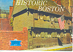 Historic Boston Massachusetts Souvenir Folder sf0353
