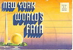 1939 New York World s Fair Souvenir Folder sf0370