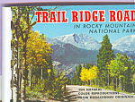 Click here to enlarge image and see more about item sf0393: Rocky Mountain National Park Colorado Souvenir Folder  sf0393