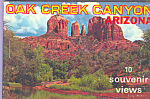Click here to enlarge image and see more about item sf0395: Oak Creek Canyon, Arizona Souvenir Folder   sf0395