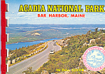 Click here to enlarge image and see more about item sf0399: Acadia National Park Maine Souvenir Folder  sf0399