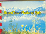 Click here to enlarge image and see more about item sf0406: Grand Teton National Park WY  Souvenir Folder  sf0406