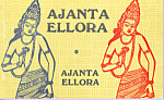 Colour Album of Views of Ajanta Ellora India Souvenir Folder sf0420