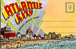 Atlantic City, New Jersey   Souvenir Folder   sf0472
