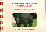 Great Smoky Mountains National Park Souvenir Folder sf0478