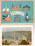 Istanbul,Turkey Postcard Folder