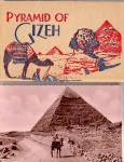 Click here to enlarge image and see more about item sf0492: Pyramid of Gizeh Souvenir Folder  sf0492