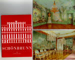 Schoenbrunn Palace Austria Postcards in Souvenir Folder   sf0528