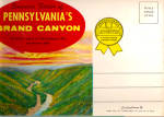 Pennsylvania Grand Canyon., Souvenir Folder