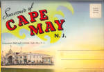 Cape May New Jersey Souvenir Folder sf0561