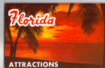 Florida Attractions Souvenir Folder sf0575