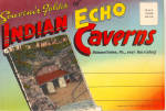 Indian Echo Caverns, Pennsylvania, Souvenir Folder