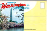 Washington DC Souvenir Folder