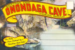 Click here to enlarge image and see more about item sf0593: Onondaga Cave Leasburg MO Souvenir Folder sf0593