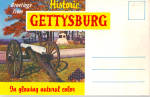 Click here to enlarge image and see more about item sf0597: Gettysburg Military Park Souvenir Folder