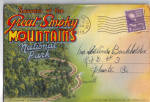 Great Smoky Mountains National Park TN Souvenir Folder sf0608