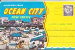 Ocean City, New Jersey Souvenir Folder sf0670