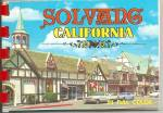 Click here to enlarge image and see more about item sf0689: Solvang, CA Souvenir Folder sf0689 Cars of Late 50s