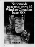 Click here to enlarge image and see more about item sm028205: Windsor Whiskey Ad sm028205 Feb 1982