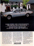 Click here to enlarge image and see more about item sm028211: Jaguar Ad Feb 1982 sm028211