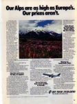 Click here to enlarge image and see more about item sm028213: Air New Zealand Ad sm028213 Feb 1982