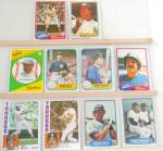 Click here to enlarge image and see more about item SP0002: 1980s Donrus Topps Fleer New York Yankees Lot of 10 SP0002