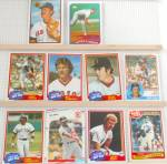 Click here to enlarge image and see more about item SP0003: 1980s Topps Fleer Bowman Boston Red Sox Lot of 10 Cards SP0003