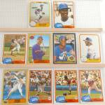 Click here to enlarge image and see more about item SP0005: 1980s Donrus Topps Fleer New York Mets Lot of Ten SP0005