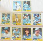 Click here to enlarge image and see more about item SP0009: 1980s Donrus Topps  Seattle Mariners Lot of Ten SP0009