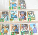Click here to enlarge image and see more about item SP0010: 1980s Topps  Texas RangersLot of Ten SP0010