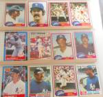 Click here to enlarge image and see more about item SP0020: 1980s Topp Donrus Fleer New York Yankees Lot 12 Trading Cards SP0020