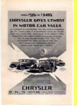 Chrysler Motor Car Ad 1927
