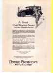 Click here to enlarge image and see more about item t0010: Dodge Motor Car Ad 1927