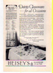 Click here to enlarge image and see more about item t0011: Heisey Glassware Ad 1927