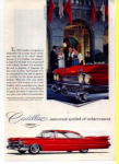 Click here to enlarge image and see more about item t0013: Cadillac Ad 1959
