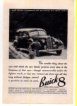 Click here to enlarge image and see more about item t0019: Buick 8 Ad 1936