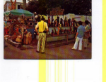 Click here to enlarge image and see more about item t0025: Native Market Place Nassau Bahamas Postcard t0025