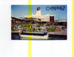 Click here to enlarge image and see more about item t0033: Expo 67 Great Britain Pavilion Postcard