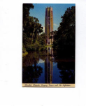 Click here to enlarge image and see more about item t0095: Singing Tower Lake Wales FL  Postcard t0095