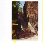Click here to enlarge image and see more about item t0099: Queen's Staircase Nassau Bahamas Postcard