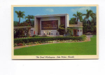 Lake Wales FL Great Masterpiece Postcard t0121