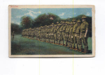 Click here to enlarge image and see more about item t0130: Military Roll Call Postcard t0130