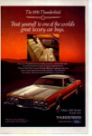 Click here to enlarge image and see more about item tbird02: 1976 Thunderbird Ad tbird02