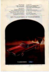 Click here to enlarge image and see more about item tbird05: 1970 Thunderbird Ad