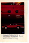 Click here to enlarge image and see more about item tbird08: 1967 Four Door Thunderbird Ad