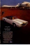 Click here to enlarge image and see more about item tbird12: 1970 Thunderbird Pan Am Ad tbird12