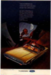 Click here to enlarge image and see more about item tbird14: 1969 Thunderbird 2-Door Landau Ad tbird14