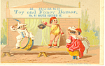 Toy Store Trade Card Philadelphia PA tc0039
