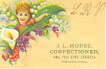 Confectioner Trade Card tc0066