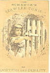 Patent Medicine Victorian Trade Card tc0074